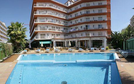 Španělsko - Costa Brava na 8 dní, snídaně s dopravou letecky z Prahy 400 m od pláže