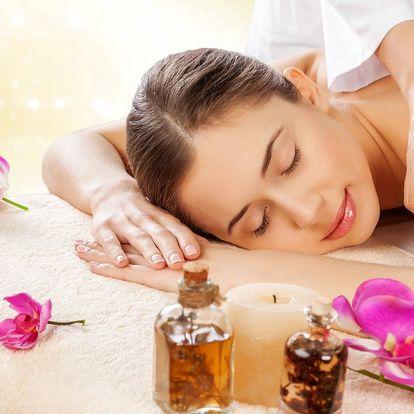 Relaxační aromaterapeutická masáž v délce dle výběru