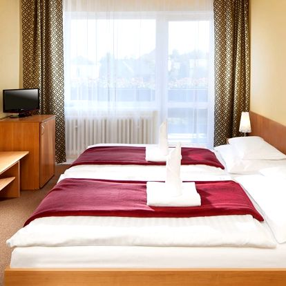 Hotel Hubert*** ve Františkových Lázních s procedurami a polopenzí pro 2