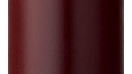 Bloomingville Svíčka Wine 20 cm, červená barva, vosk