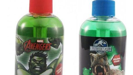 Avangers nebo Jurský Park - řvoucí tekuté mýdlo 250 ml