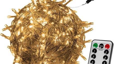 VOLTRONIC® 59732 Vánoční LED osvětlení 40 m - teple bílá 400 LED + ovladač