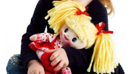 Zpívající hadrová panenka Lucinka