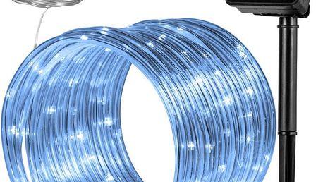 """VOLTRONIC® 59614 solární světelná hadice, 100 LED, studená bílá"""""""