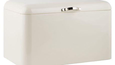 IB LAURSEN Plechový box na pečivo Cream - vysoký, krémová barva, kov