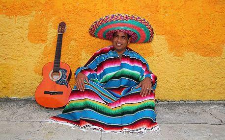 Velké putování Mexikem, Mexiko, letecky, snídaně v ceně