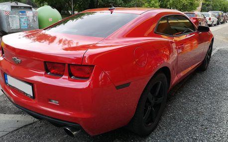 Jízda v Chevroletu Camaro jako spolujezdec či řidič nebo zapůjčení vozu