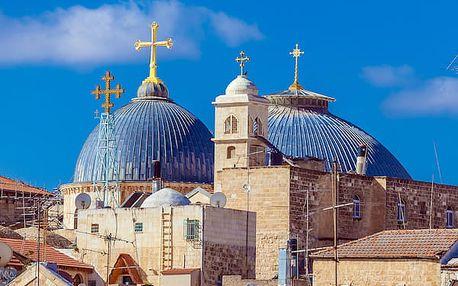 Velká cesta do Svaté země, Izrael, letecky, polopenze