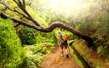 Pěší turistika na Madeiře, Portugalsko, letecky, polopenze