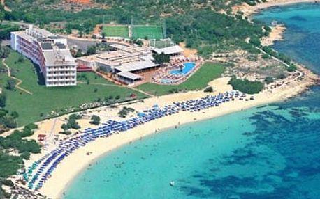 Kypr - Agia Napa na 9 dní, all inclusive nebo polopenze s dopravou letecky z Prahy přímo na pláži