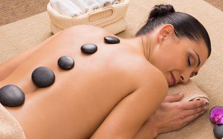 Hřejivý odpočinek: Masáž lávovými kameny