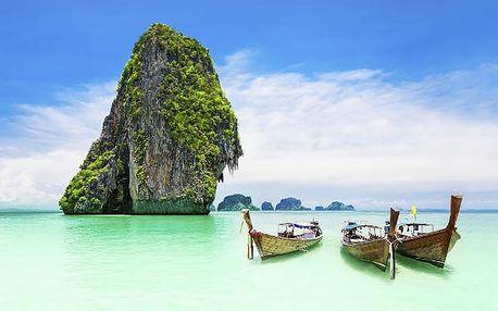 Velký okruh jižním Thajskem, Thajsko, letecky, snídaně v ceně