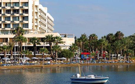 Kypr - Larnaca na 9 dní, all inclusive, plná penze nebo polopenze s dopravou letecky z Prahy přímo na pláži