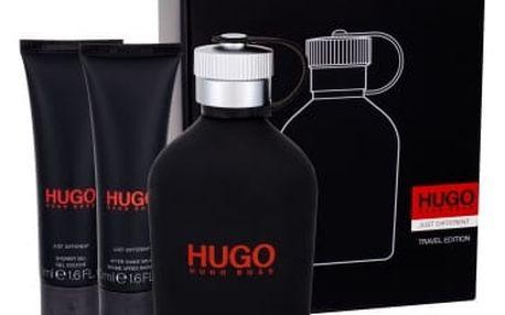 HUGO BOSS Hugo Just Different dárková kazeta pro muže toaletní voda 150 ml + balzám po holení 50 ml + sprchový gel 50 ml