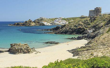 Krásy Menorcy, Španělsko, letecky, polopenze