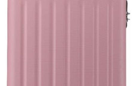 Růžový střední kufr Romero 1872