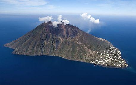 Sicilské vulkány, Itálie, letecky, polopenze