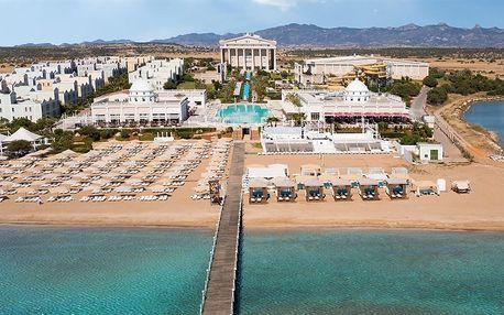 Kypr - Severní Kypr na 9 dní, ultra all inclusive s dopravou letecky z Prahy přímo na pláži