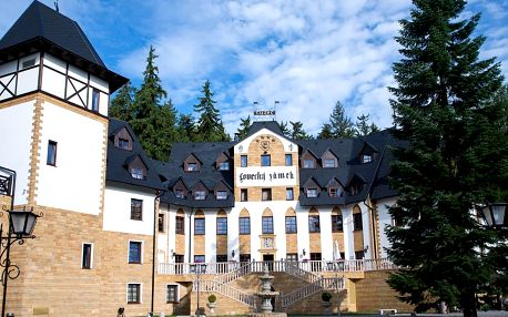 Zimní romantika ve Spa & Wellness Hotelu Zámek Lužec **** s wellness, procedurami a polopenzí
