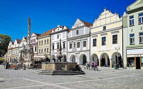Jižní Čechy aktivně a pohodově v prostorném apartmánu nedaleko Třeboně