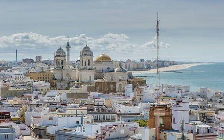 Krásy Andalusie, Španělsko, letecky, polopenze
