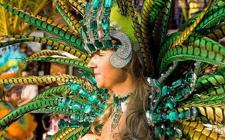 Karneval na Madeiře, Portugalsko, letecky, polopenze