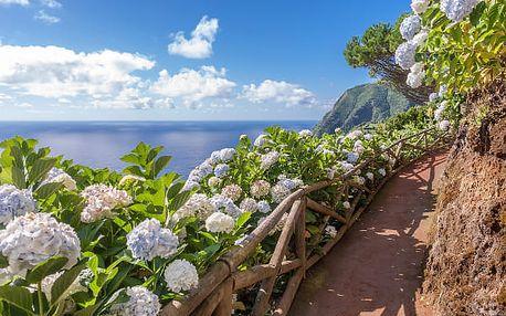 Nespoutané Azorské ostrovy, Portugalsko, letecky, polopenze