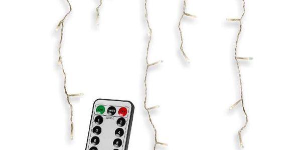VOLTRONIC® 59794 Vánoční světelný déšť 400 LED studená bílá - 10 m + ovladač5