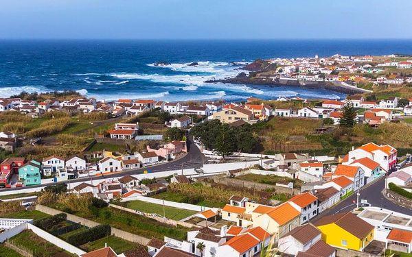Nespoutané Azorské ostrovy, letecky, polopenze3