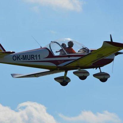 Pilotem ultralehkého letadla na zkoušku
