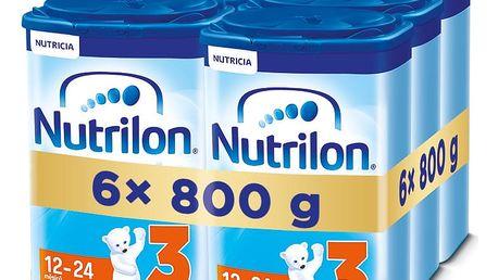 6x NUTRILON 3 (800g) - kojenecké mléko
