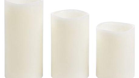 Sada LED svíček Glaze, 3 ks