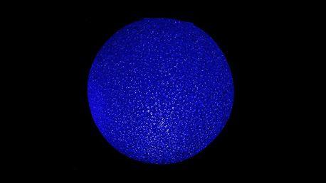 Nexos 41719 Barevná LED svítící koule 15 cm - měnící barvu