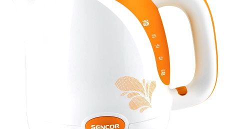 Sencor SWK 1503OR rychlovarná konvice, oranžová