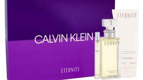Calvin Klein Eternity dárková kazeta pro ženy parfémovaná voda 100 ml + tělové mléko 200 ml + parfémovaná voda 10 ml