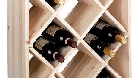 Stojan na víno,12 lahví, ZELLER