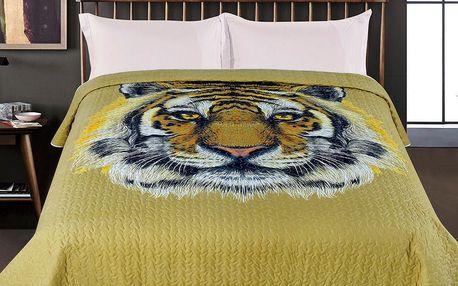 JAHU Přehoz na postel Tygr, 220 x 240 cm