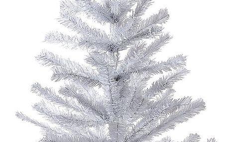 HTH Smrček vánoční stolní v. 82 cm bílá