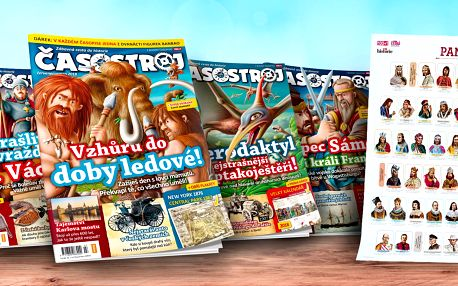 Kompletní ročník dětského magazínu Časostroj