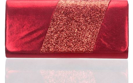 Fashion Icon Psaníčko Diamond Shine s třpytkami pruhovaná
