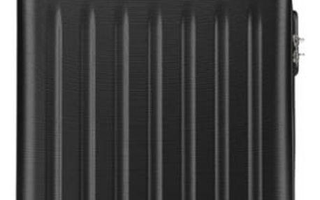 Černý střední kufr Romero 1872