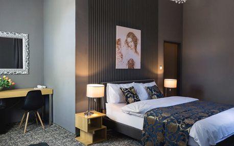 Odpočinek s polopenzí ve stylovém hotelu Da Vinci v Mariánských Lázních