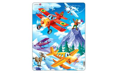 Larsen Puzzle Letadla, 20 dílků