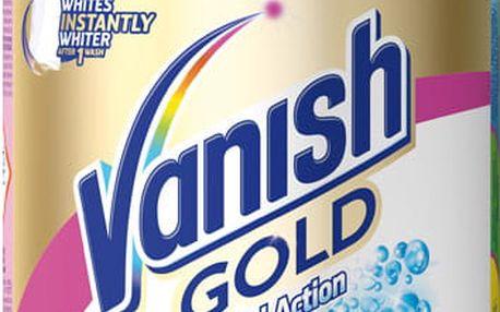 VANISH Gold Oxi Action Bílý 625 g - odstraňovač skvrn