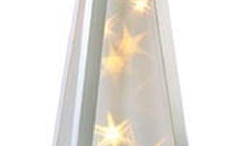 Solight Vánoční pyramida otáčecí 16 LED teplá bílá