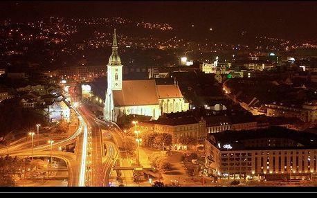 Slovensko - Bratislava na 1 den, bez stravy s dopravou autobusem