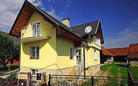 Slovensko - Liptov na 3 až 4 dny, bez stravy s dopravou vlastní