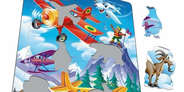 Larsen Puzzle Letadla, 20 dílků2