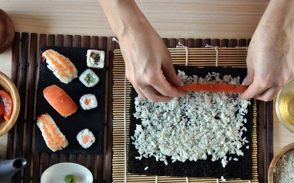 Kurz přípravy sushi v Brně nebo Blansku