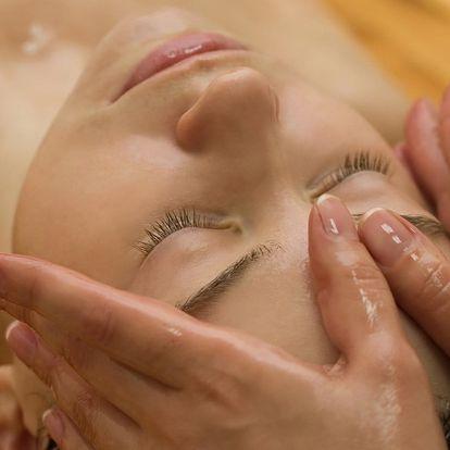 Ajurvédské ošetření pleti včetně tlakové masáže